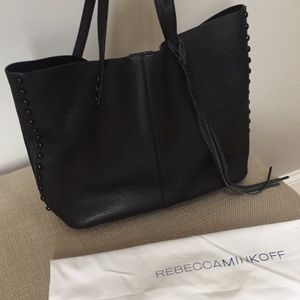 Rebecca Minkoff Slouchy Black Unlined Tote